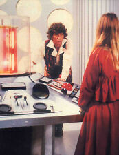 DOCTOR WHO POSTER PAGE . TOM BAKER TARDIS INTERIOR - WARRIORS GATE
