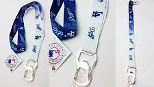 MBL Los Angeles Dodgers Lanyard Bottle Opener LA Dodgers Destapador