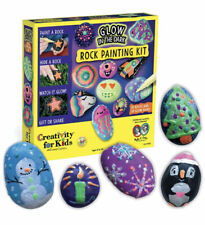 Creativity for Kids 6232000 Glow in The Dark Rock Painting Kit