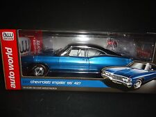 Auto World Chevrolet Impala SS 427 1967 Marina Blue 1 out of 1,002 pcs 1/18