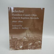 Selected Hamilton County Ohio Church Baptism Records 1890-1899-Cincinnati-Gene..