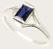 Blue Sapphire Ring ¾ct Antique 19thC Medieval Ecclesiastical Heaven's Gem Heals