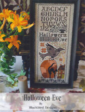 Halloween Eve Blackbird Designs Cross Stitch Pattern
