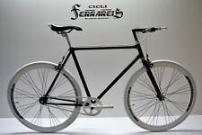 fixed bike single speed bici scatto fisso bianco nero personalizzabile