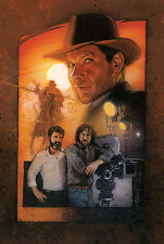 Indiana Jones limited lithograph - rare for collectors - Drew Struzan poster