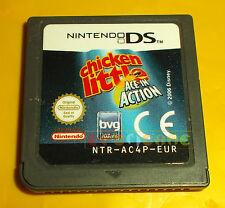 CHICKEN LITTLE ASSO SPAZIALE Nintendo Ds Versione Europea ○○ SOLO CARTUCCIA - BD