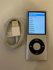 Apple iPod nano 4th Generation Silver (8 GB)