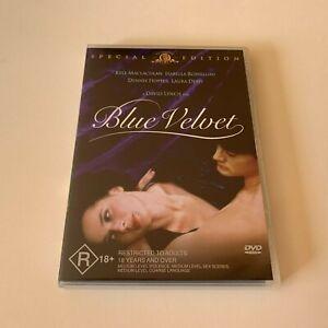 Blue Velvet - Genuine Region 4 DVD 1986 David Lynch Dennis Hopper