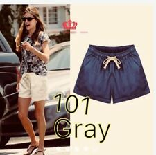 LADIES SHORT WITH STRING & POCKET #101 (LH)  (GRAY) FREE SIZE