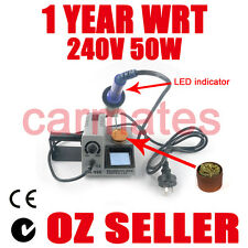 SOLDERING IRON STATION 50W for Lead light window CE RoHS Sydney stock 1 year WRT