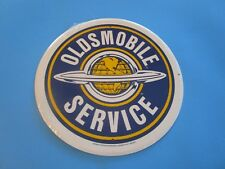 tin metal garage dealership man cave advertising decor gas oil olds oldsmobile