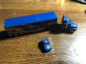 OLD Dale Jarrett #88 1/87 Ford Quality Care Transporter Rig And Mini Car