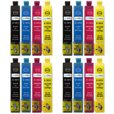 16 Ink Cartridges for Epson Expression Home XP-202 XP-30 XP-315 XP-412
