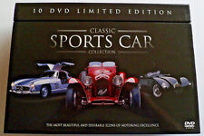 Classic Sports Cars Collection - 10 DVD Limited Edition