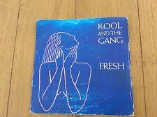 """KOOL AND THE GANG FRESH. 1984 UK 7"""" SINGLE."""