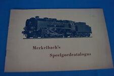 Marklin MERKELBACH SPEELGOEDCATALOGUS 1950