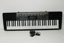Casio Lk-265 Synthesizer Keyboard Lighted Keys with Adapter - Tested and Works