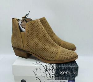 Kensie Women's Glynda Ankle Boots Desert Sand (Tan) US 10