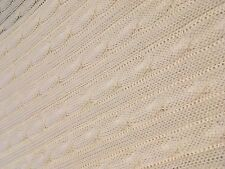 ECO FRIENDLY LUXURIOUS BAMBOO CABLE KNIT BLANKET- MASSIVE SALE NOW ON!