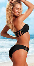 Victoria's Secret Strappy Bandeau Bikini-Set   75B/S