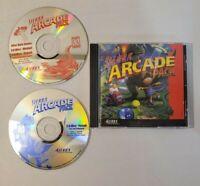 Sierra Arcade Pack PC Game Featuring 3-D Ultra Pinball MiniGolf - NEAR MINT