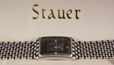 Stauer Fine Platinum Ingot 999.5 Wrist Watch w/ Diamond Accents $795 MSRP