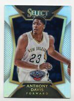 2014-15 Panini Select ANTHONY DAVIS Rare SILVER PRIZM REFRACTOR #15 Lakers 2015