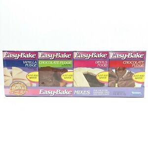 Easy Bake Food Mixes Pack Kenner Vintage 1990 Sealed