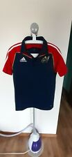 Munster eire ireland rugby union S Small adidas polo training jersey