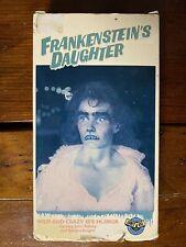 Frankensteins Daughter Vhs Admit One horror sov cult rare htf oop the A Team