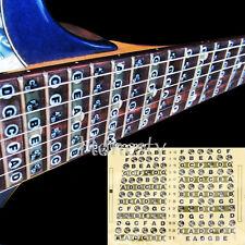 Guitar Fret Scale Musical Sticker Neck Fingerboard Fretboard Note Learn Practice