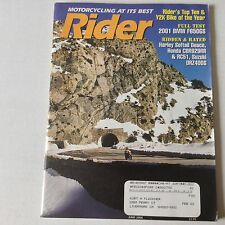 Rider Magazine 2001 BMW F650GS Harley Softail Deuce June 2000 052617nonrh2