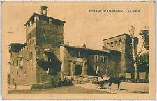 CARTOLINA d'Epoca  BERGAMO  - Romano di Lombardia : LA ROCCA  1926
