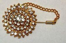Sciarpa Scialle Cappello Matrimonio Bouquet da Sposa Spilla Diamante Spilla da Balia META 'PREZZO
