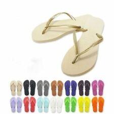 Havaianas Brazil Original Genuine Slim Women Sandal Flip Flops Vary Colors Sizes