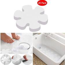 """20 Flower Safety Treads Non-Slip Applique Stickers Mat Bath Tub Shower Treads 4"""""""