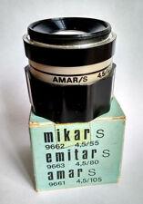 Vintage AMAR S 4.5/105mm M42 Enlarger Lens PZO Poland Warszawa in Box + Gift