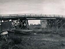 SÈTE c. 1947 - Pont provisoire sur le Rhône Bouches du Rhône - Div 2678