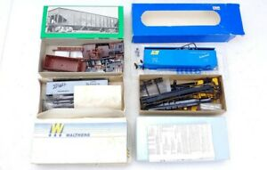 4 Vintage HO Train Car Kits Bowser, Branch lines, Walthers, & Front Range
