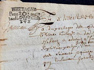 ANTIQUE DOCUMENT 1675