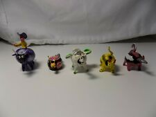 Lot of 5 Mexican handicraft Bobble head animals