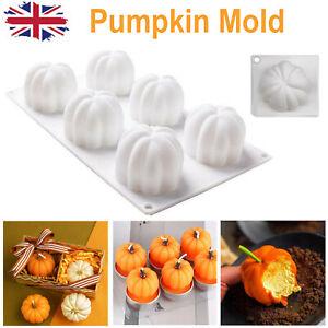 Halloween mini pumpkin silicone mold, aroma pumpkin candle DIY Mold