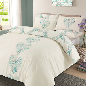 Lizzie Hearts Reversible King Size Duvet Cover Set Pillowcase Bedding Bed ds1