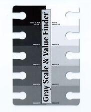 Gli artisti del valore di scala di grigi e il FINDER-la compagnia della ruota di colore
