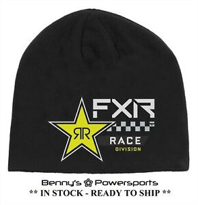 FXR Race Division Rockstar Beanie One Size Stocking Hat Snow Winter Warm