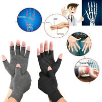 Compression Gloves Joint Sleeves Grip Fingerless Computer Typing Indoor