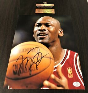 Michael Jordan Signed 8x10 Certified Photo Autographed Signature Chicago Bulls
