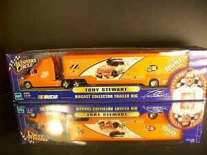 Rare Tony Stewart #20 Home Depot 1:64 2000 Racing Team Transporter