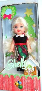 BARBIE SHELLY FESTA DI  NATALE  MATTEL 2005