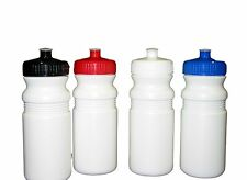 4 . Sports Water Bottles Blue Red White Black Caps Made in America Lead Free